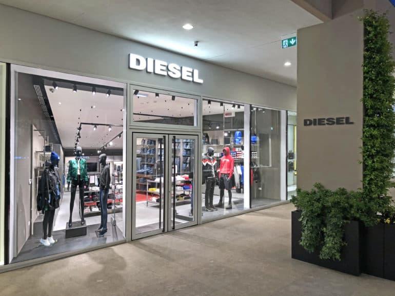 Outlet Dell Arredamento Torino.Diesel Fa Il Suo Ingresso Al Sicilia E Al Torino Outlet Village