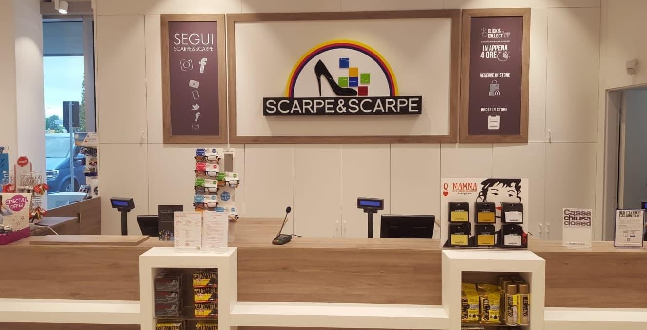 tra qualche giorno ottima vestibilità limpido in vista New look per il nuovo negozio Scarpe & Scarpe a Roma Salaria