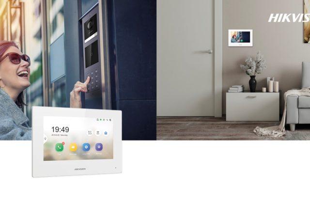 Hikvision video bianco