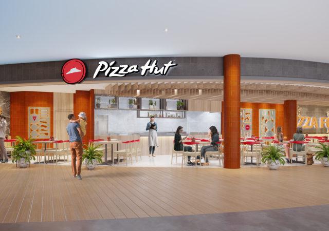 pizza hut concept di autogrill scalo di Bali